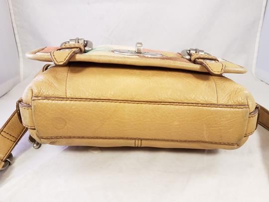 Fossil Maddox Reissued Purse And Clutch Matching Set Satchel in Light Gold/beige Image 8