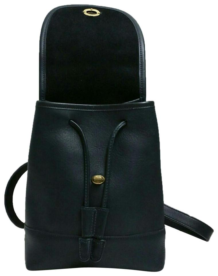 5d92e789079af Coach Drawing Black Cowhide Leather Backpack - Tradesy