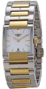 Tissot T2 Mother of Pearl Rectangle Dial Ladies Watch