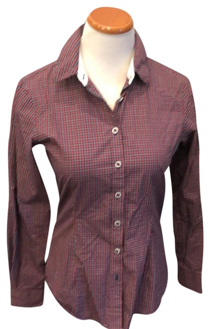 Item - Red Shirt Blouse Size 10 (M)
