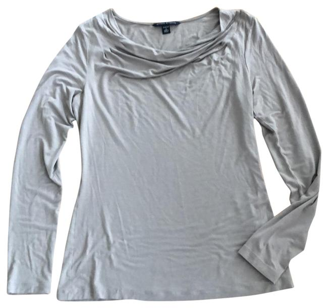 Item - Tan Long Sleeve Tee Tunic Size 6 (S)