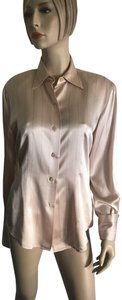 Ellen Tracy Button Down Shirt Nude