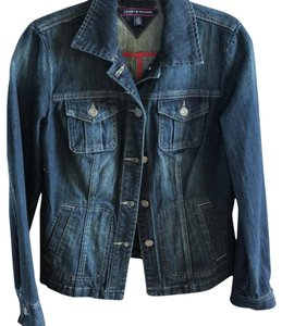 Tommy Hilfiger Denim Blue Jacket Size 6 (S) - Tradesy 955395be4c