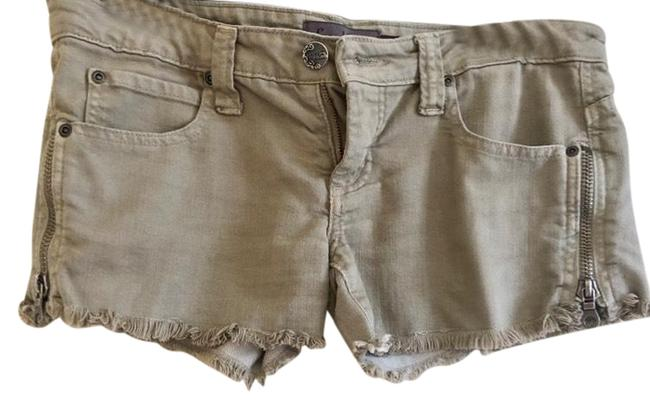 Item - Military Green Zippers Shorts Size 6 (S, 28)