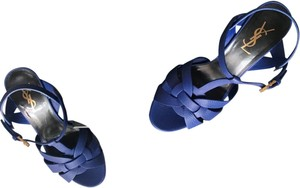 Saint Laurent Cobalt blue Sandals