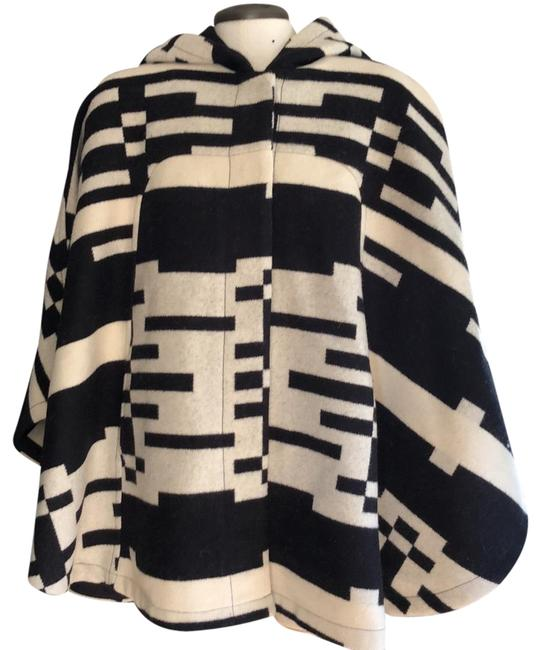 Item - Black/White Rare Poncho/Cape Size OS (one size)