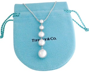 Tiffany & Co. Graduated Beads Dangling Necklace
