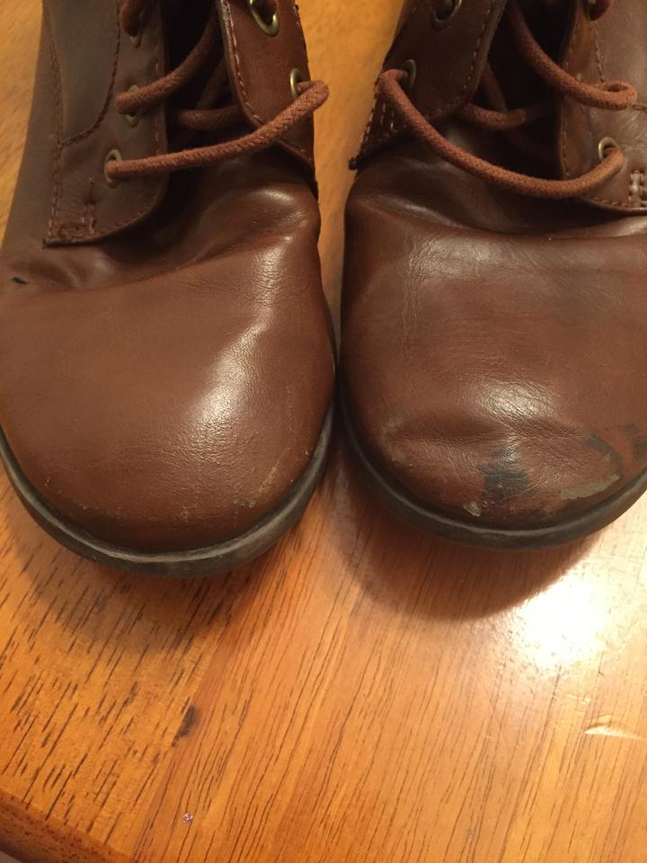 27b5fb5c009a jcp Brown Above-the-ankle Boots Booties Size US 8.5 Regular (M