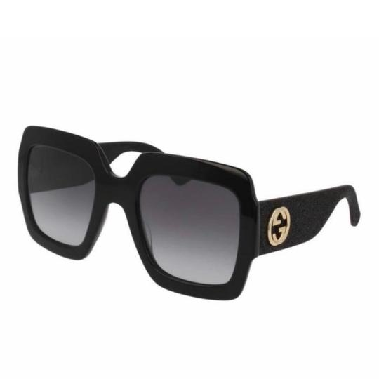 Preload https://img-static.tradesy.com/item/24761880/gucci-black-glitter-square-gg0102s-001-sunglasses-0-2-540-540.jpg