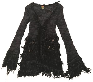 278859c97 Save The Queen Dark Blue Cardigan / / Jacket Poncho/Cape Size 2 (XS) 66%  off retail