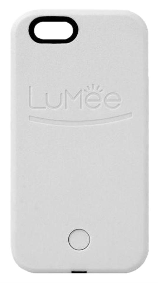 quality design 33137 52095 LuMee White Light Up Iphone 6/6s/7 Selfie Case Tech Accessory 67% off retail