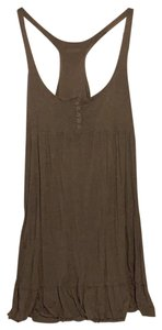 Hard Tail short dress Brown with light gold shimmer on Tradesy