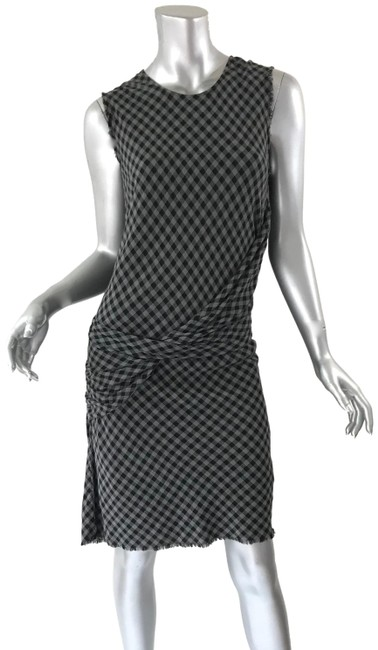 Item - Gray New Mid-length Cocktail Dress Size 8 (M)