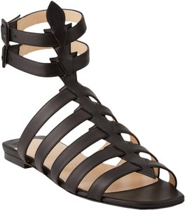 Christian Louboutin Gladiator Cage Ankle Strap Strappy Neronna Black Sandals