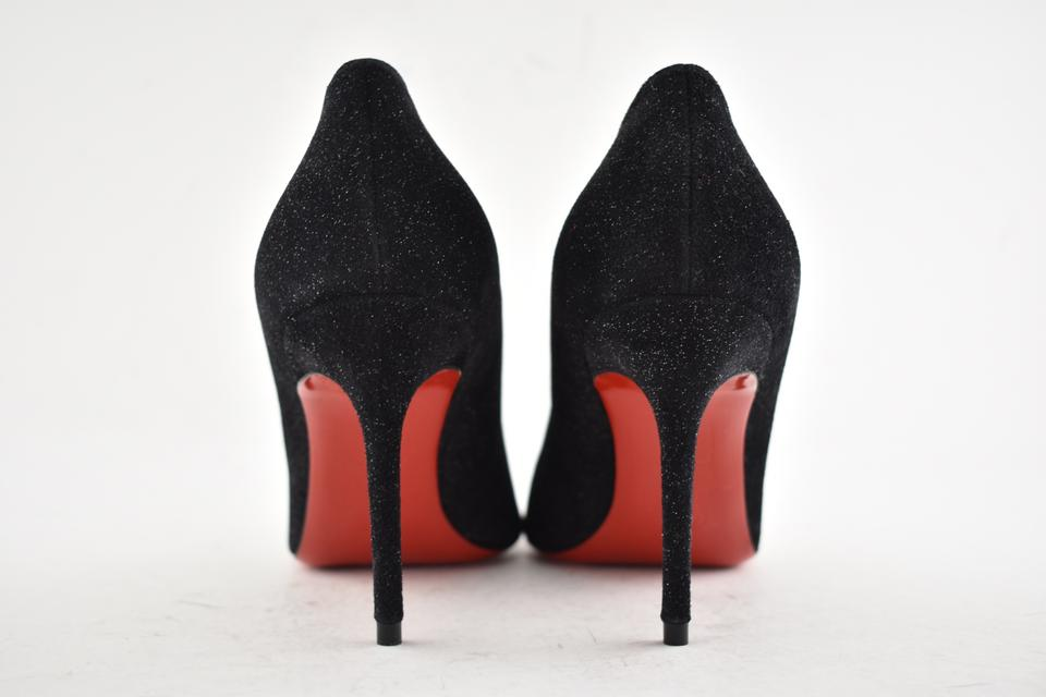 749a38785f36 Christian Louboutin Pigalle Follies Stiletto Suede Classic black Pumps  Image 8. 123456789