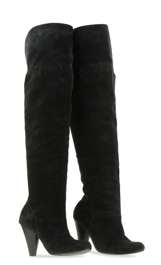 Restricted Black Boots Image 1