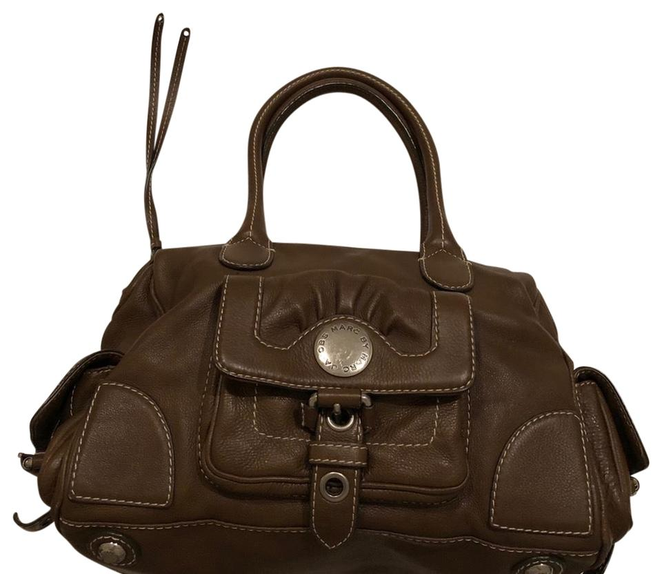 0249c2dabf25 Marc by Marc Jacobs Brown Leather Satchel - Tradesy