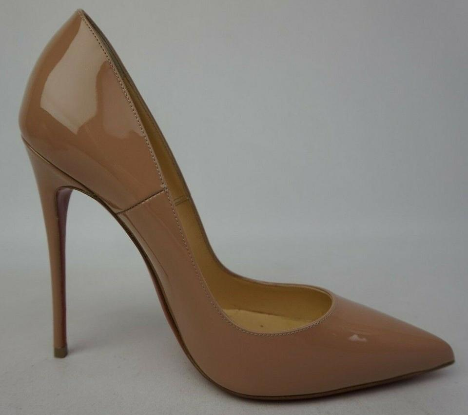 Christian Louboutin So Kate 120 MM Nude Patent 36 (Womens