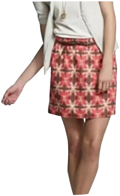Item - Red Brown Skirt Size 4 (S, 27)