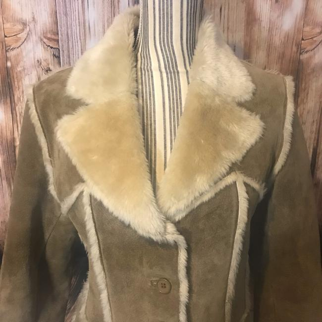 Wilsons Leather Suede Fauxfur Fur Coat Image 1