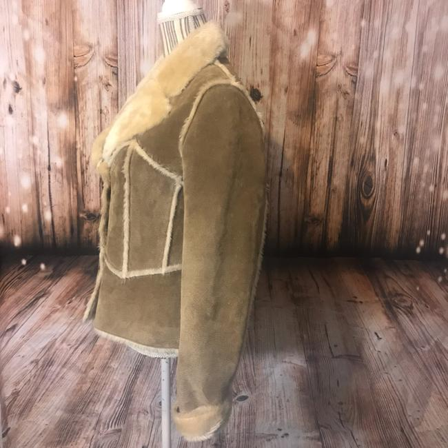 Wilsons Leather Suede Fauxfur Fur Coat Image 2