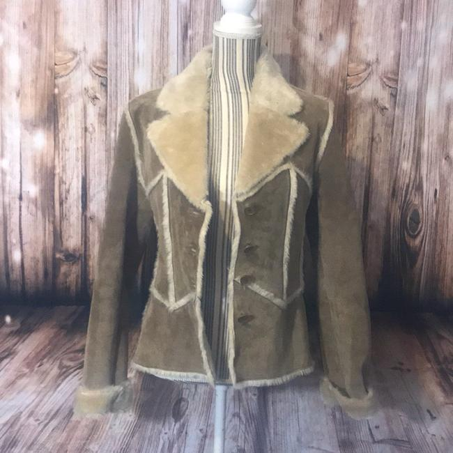 Wilsons Leather Suede Fauxfur Fur Coat Image 4