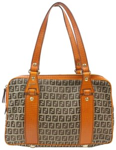 985013199a03 Fendi Boston Speedy Duffle Doctors Tote in Brown