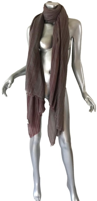 Item - Red/Gray Cashmere Scarf/Wrap