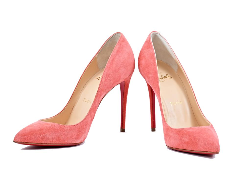 b6ad9078a368 Christian Louboutin Charlotte Pigalle Follies 100 Suede Pumps Size ...