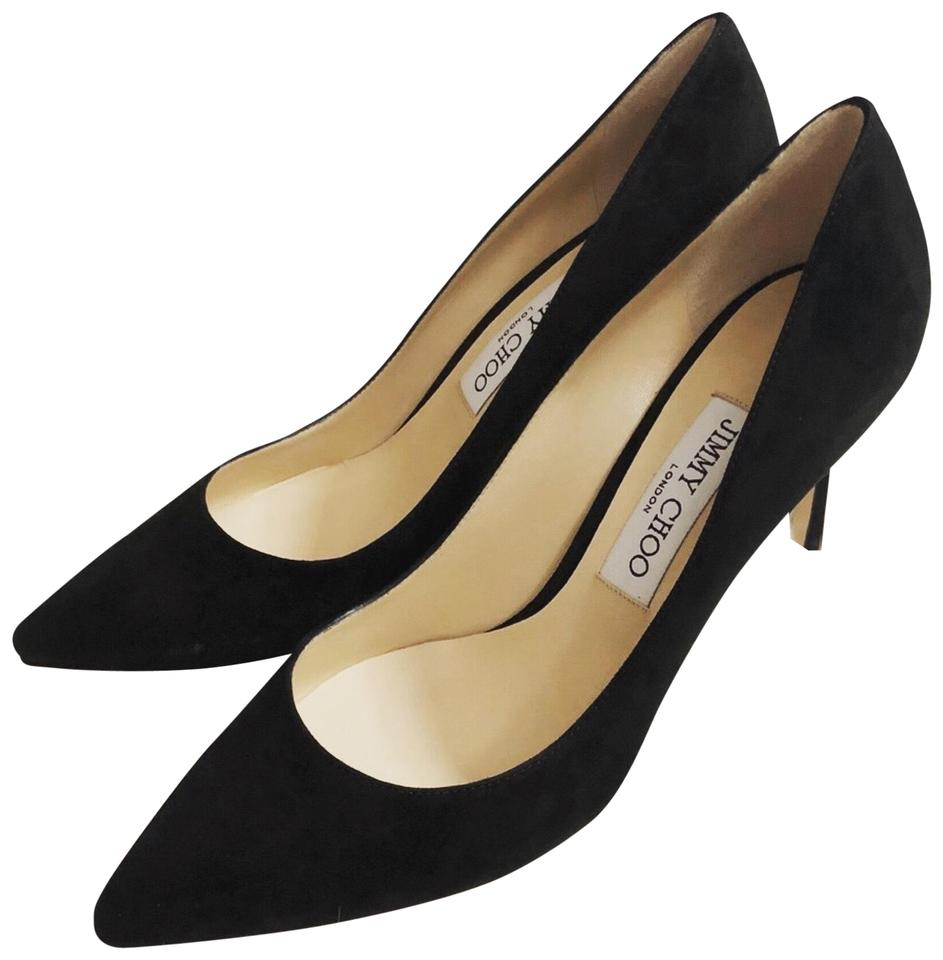 990d28d3d748 Jimmy Choo Black Romy 85 Pumps Size EU 38.5 (Approx. US 8.5) Regular ...