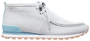 Tory Burch Sport Chukka Sneakers Suede blue Athletic