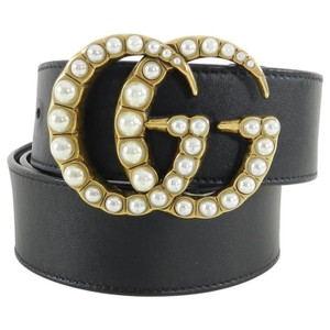 b1504059b0a Gucci Rare Limited Pearly Marmont Pearl GG Belt 13gz0125. Gucci Black ...