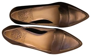 987125e0da73 Vince Camuto Metallic Comfortable Work copper Flats