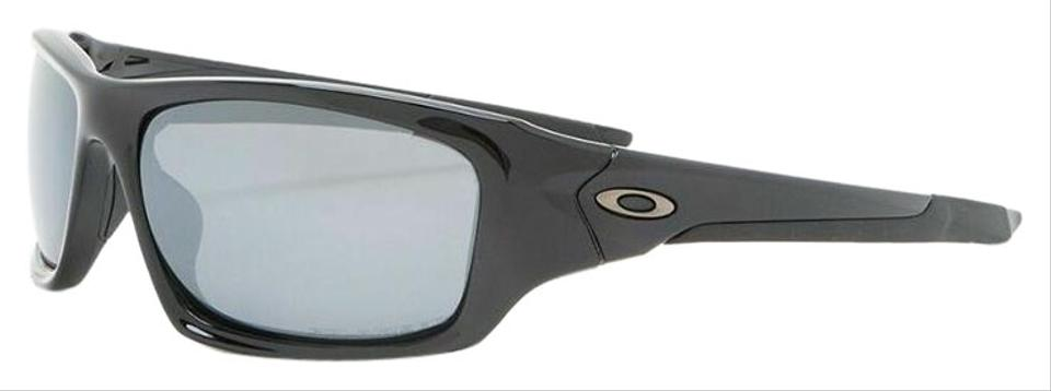 6a0209ebdb Oakley Valve Polished Black Frame   Black Iridium Polarized Lens 12-837  Sports Style Unisex Sunglasses