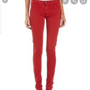 Fade to Blue Athletic Pants Red