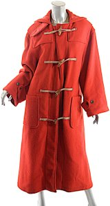 Ralph Lauren Vintage Wool Blend Duffle Trench Coat