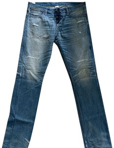 NSF Straight Leg Jeans-Distressed