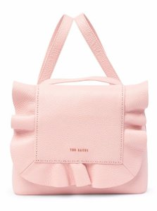 Ted Baker Rammira Ruffled Leather Light Rugsack Backpack