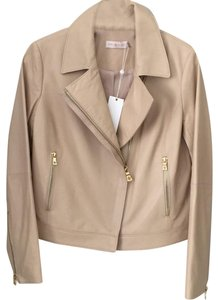 Tory Burch beige Leather Jacket