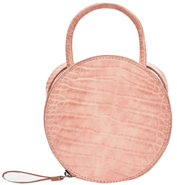 Item - Round Mini Pink Cross Body Bag