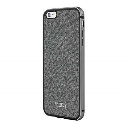 Tumi Tumi Two Piece Case For Iphone 6 Plus, Earl Grey W/Gunmetal, One Size Image 1
