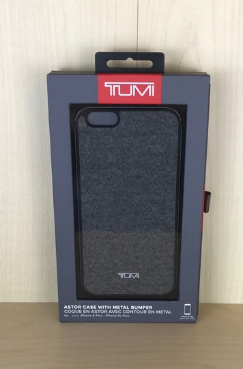 Tumi Tumi Two Piece Case For Iphone 6 Plus, Earl Grey W/Gunmetal, One Size Image 2