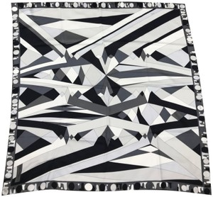 Emilio Pucci Emilio Pucci Abstract Print Silk Scarf