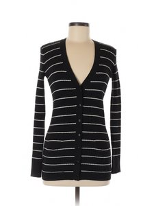Vince Cotton Striped Sweater