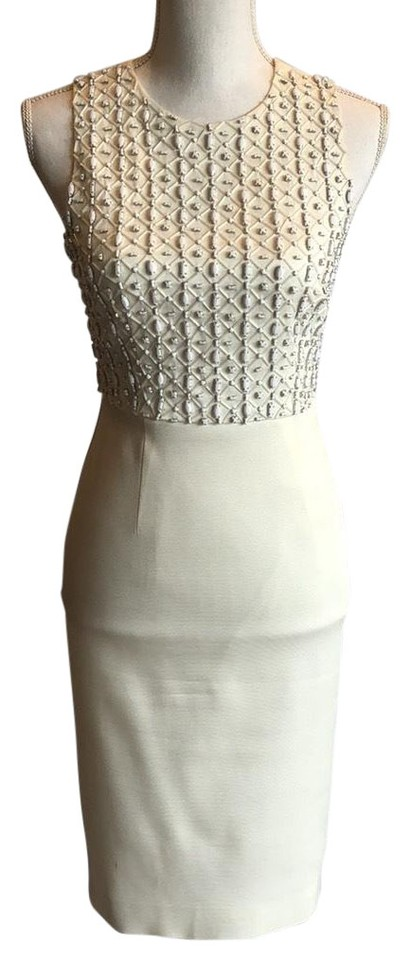 outlet store sale super specials new images of L.K. Bennett White Short Cocktail Dress Size 4 (S) - Tradesy
