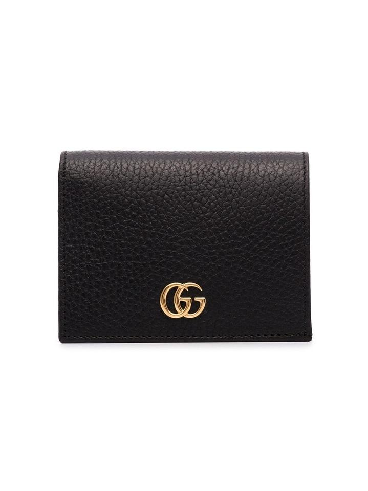 7a519d7d2 Gucci GUCCI black GG Marmont leather wallet Image 0 ...