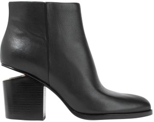 Alexander Wang Gabi Cut-out Hollywood Date Night Night Out BLACK Boots