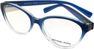 fc65be0016 Michael Kors MK8021-3122-50 Mitzi Women s Blue Frame Genuine Eyeglasses NWT