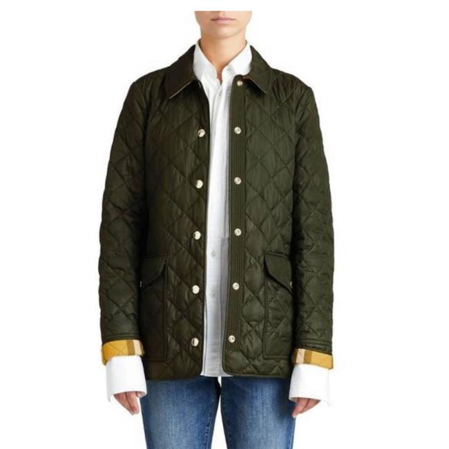 Item - Military Green Westbridge Quilted Large Jacket Size 12 (L)