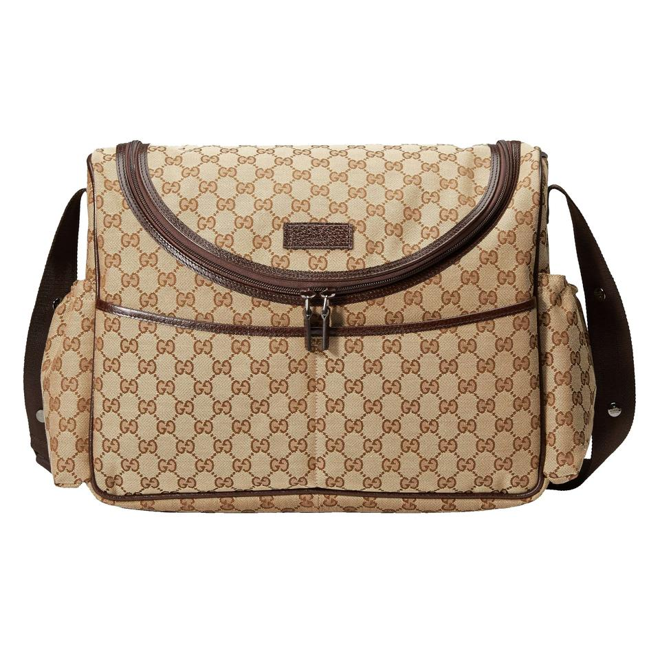 238f92e4fa55 Gucci Basic Gg Unisex Baby/Momma/Diaper Bag/Changing Mat 123326 ...